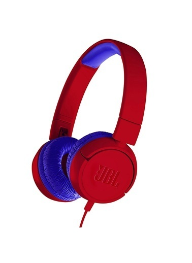JBL JR300 Kırmızı-Mavi Kulak Üstü Çocuk Kulaklığı Renkli